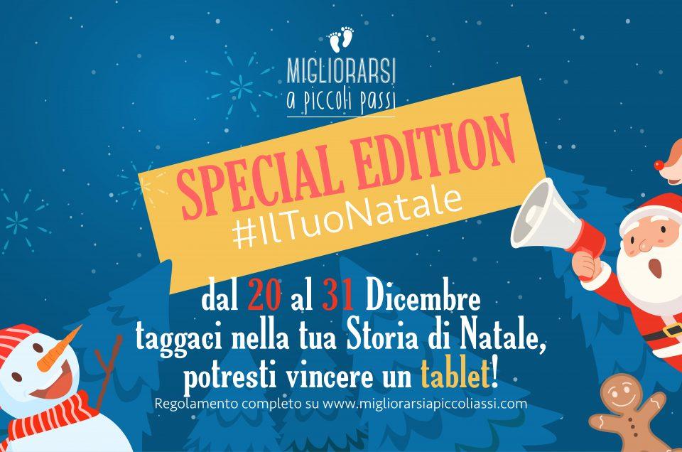 Raccontaci #IltuoNatale, la Special Edition di Migliorarsi a piccoli passi